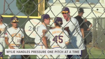 Wylie Little League addresses the presssure one pitch at a time