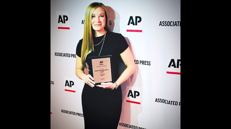 On Saturday, April 21st, three FOX15/KIDY FOX employees won two first-place Associated Press awards.