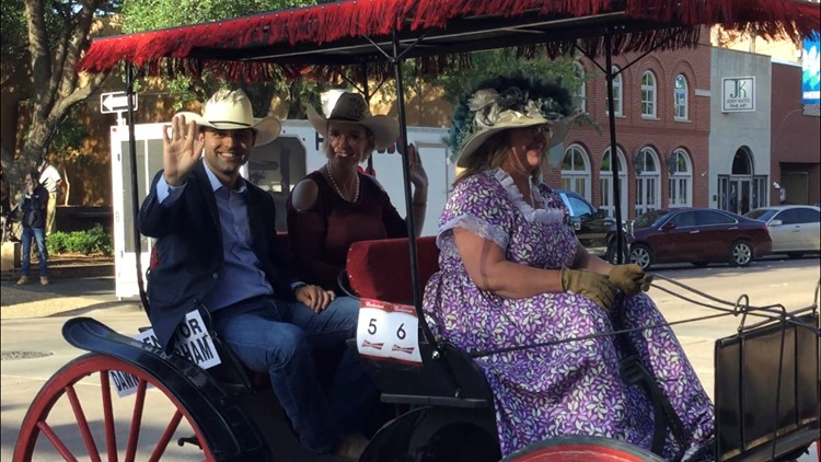 A day that is meant for fun and celebration quickly turned with a state senator jumping out of a runaway horse-drawn carriage at the annual 'Western Heritage Classic' parade.