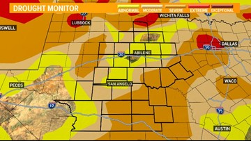 Drought conditions worsen across west Texas