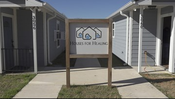 Addition of temporary housing for patients from the Big Country