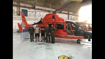 Dallas man rescued by Coast Guard after boat capsizes near Dominican Republic