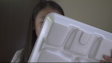 Saving the world, one Styrofoam plate at a time