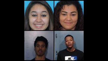 APD: Four arrested for drive-by shootings