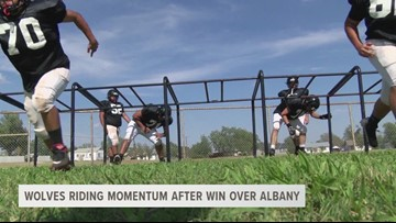 Wolves riding momentum after win over Albany