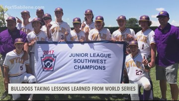 Wylie Little League baseball uses lessons from World Series appearance