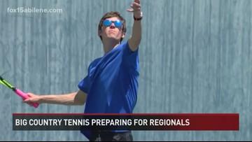 Big Country tennis teams preparing for Regionals