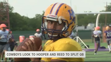 HSU chooses QB Reed to start, but will split time with Hooper