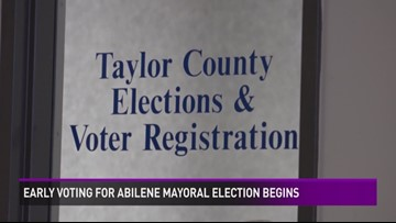 Early Voting for Mayoral Runoff Election Begins