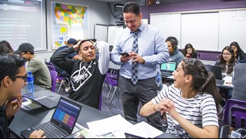 This teacher doubled his salary by getting a job in California