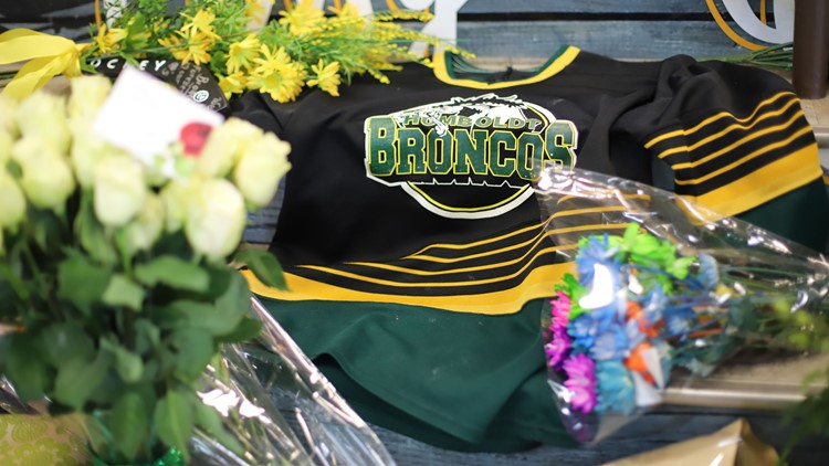 The crash occurred in Saskatchewan on April 6 as the bus was taking the Humboldt Broncos hockey team to a playoff game.
