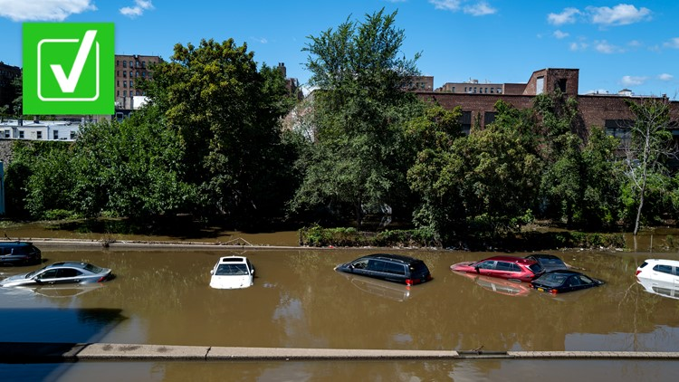 Yes, Ida caused New York City's first ever 'flash flood emergency,' which is different from a typical 'flash flood warning'