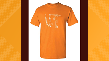 High demand for Florida boy's UT t-shirt design crashes Vol Shop server