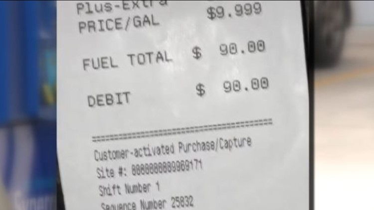 Charlotte woman says she paid more than $9/gallon to fill up her car