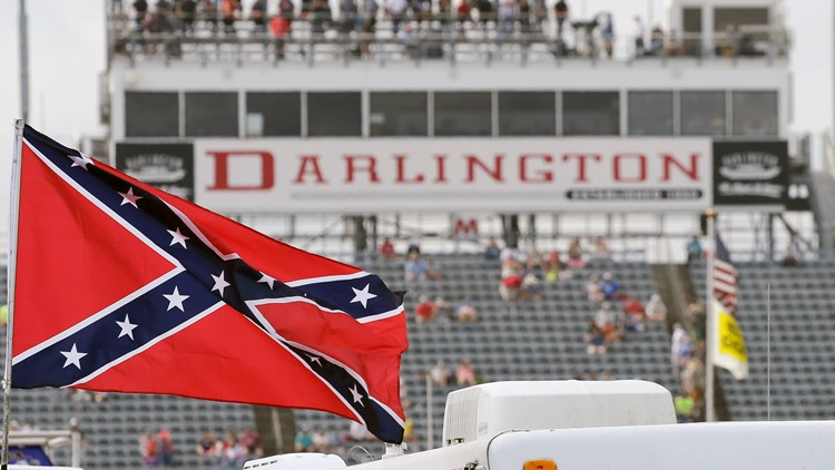 NASCAR bans Confederate flag from its races and properties