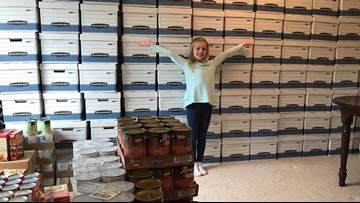 Charlotte 9-year-old raises enough money to buy 108 Thanksgiving meals and turkeys for families in need