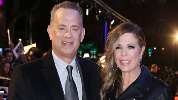 'There's no crying in baseball': Tom Hanks, Rita Wilson give coronavirus update