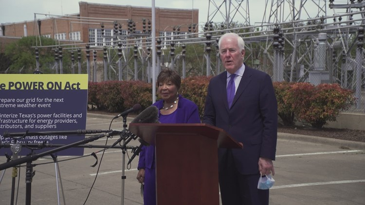 Sen. Cornyn and Rep. Johnson introduce bipartisan bill to strengthen, winterize Texas' power grid