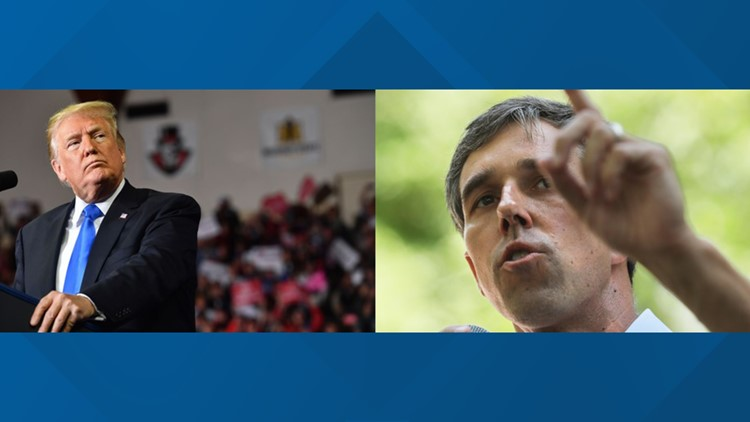 Donald Trump and Beto O'Rourke are coming to North Texas at the same time. Here's what to expect