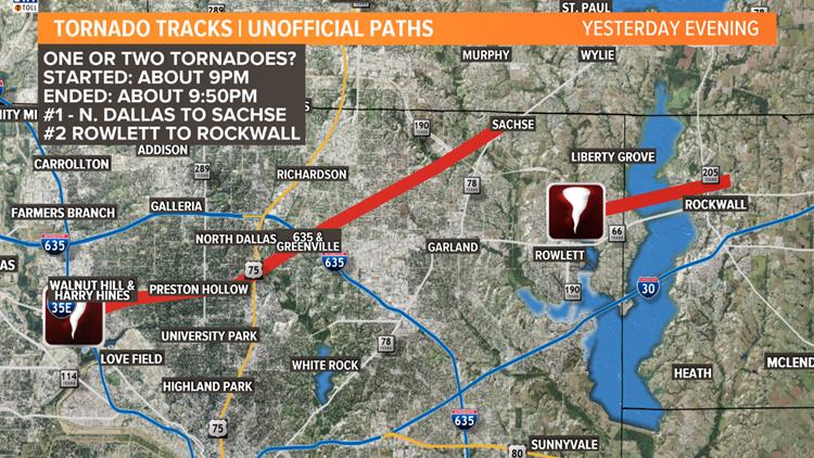 unofficial tornado paths october 20