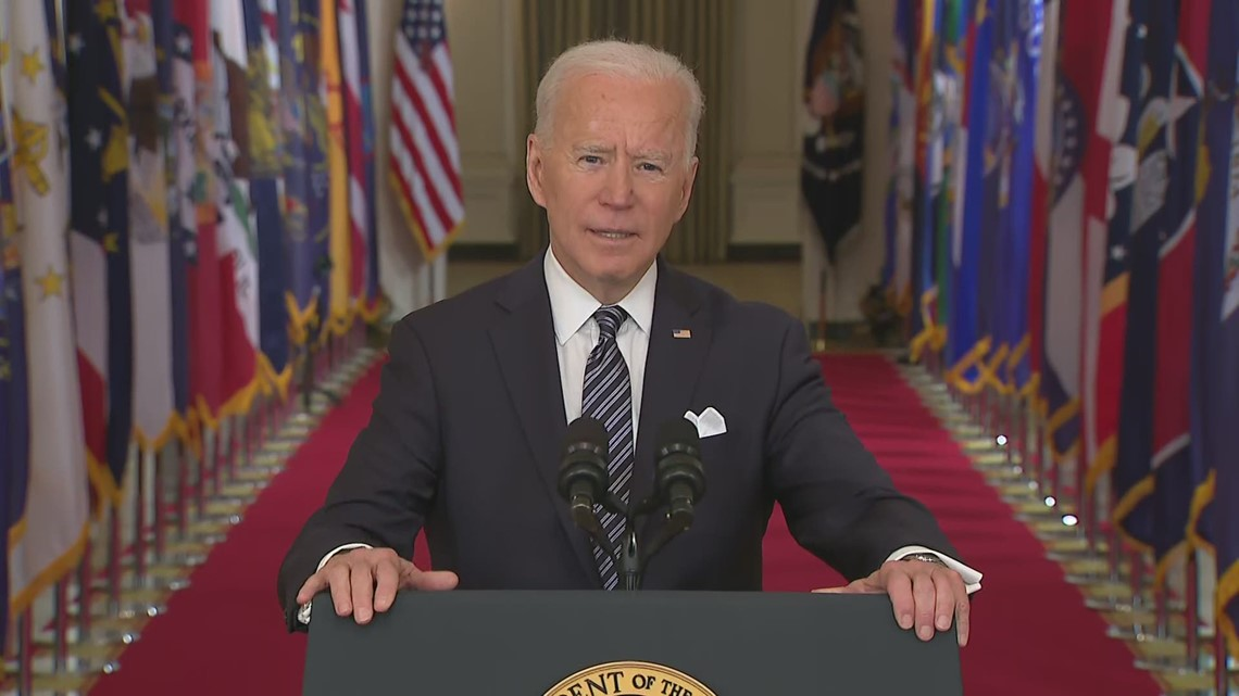 Biden: 'Too often, we've turned against one another' during COVID pandemic'
