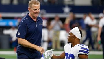 Cowboys coach Jason Garrett is confident reserve RBs can fill in for Ezekiel Elliott in Week 1