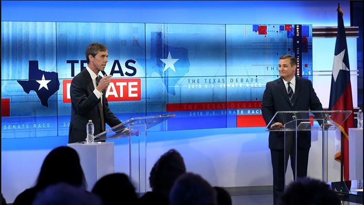 Ted Cruz vs. Beto O'Rourke: The Texas Debate as it happened