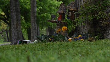 'Fairy houses,' aspiring journalists bring happiness to families in Fort Worth