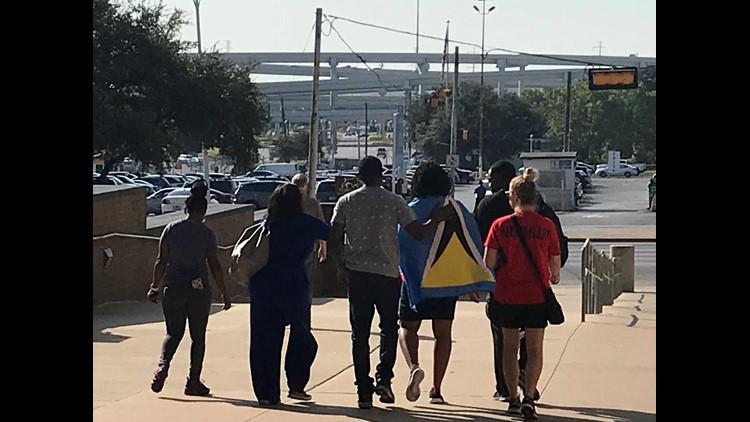 Safiya Paul leaves Dallas County Jail