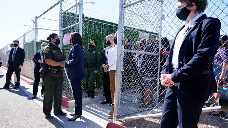 Texas congressman says vice president's border visit checks a box politically, solves nothing