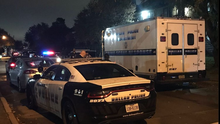No injuries reported in Dallas police shooting