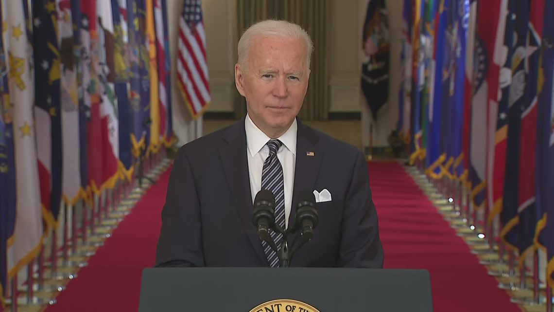 Biden: All states should make adults vaccine-eligible by May 1