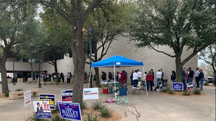 Mansfield Subcourthouse voting place primary 2020