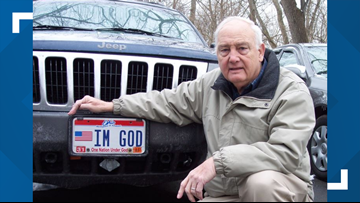'IM GOD' license plate approved by judge