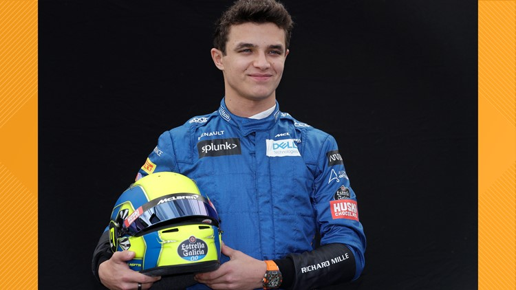 British F1 driver Lando Norris wins in IndyCar iRacing debut