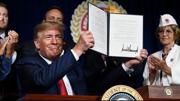 Trump signs student debt forgiveness for disabled veterans
