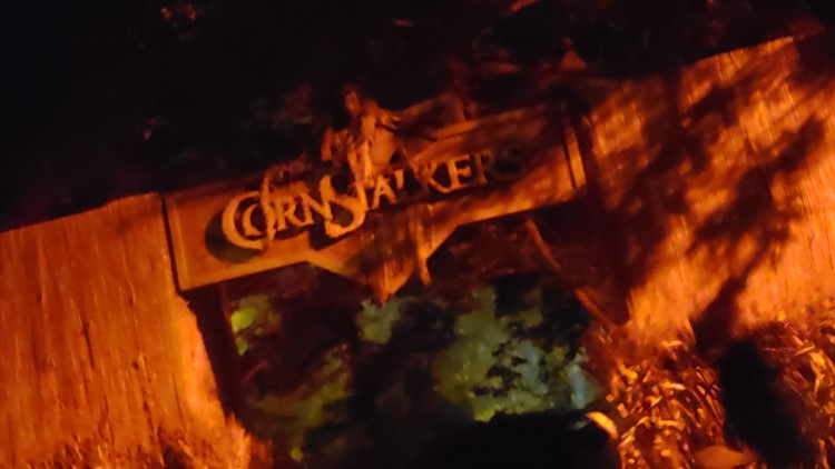 CornStalkers sign at Cedar Point HalloWeekends 2019