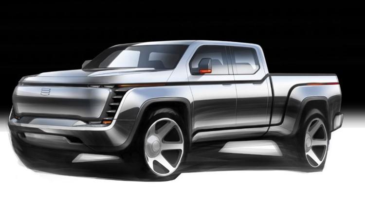 Lordstown Motors Corporation electric truck rendering