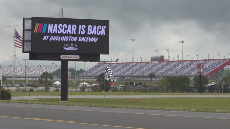 NASCAR driver Ray Ciccarelli thinks about leaving sport over disagreement with flag policy
