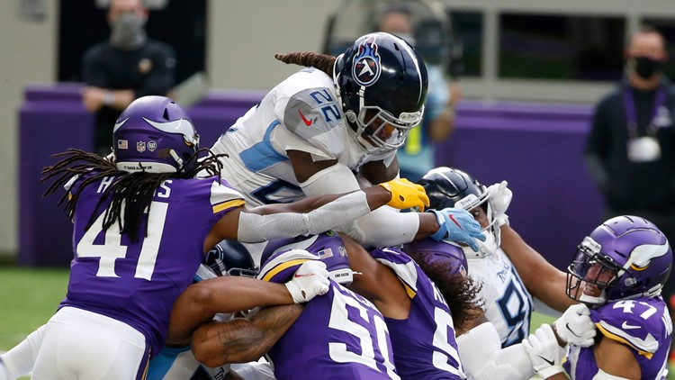 Titans report NFL's first COVID-19 outbreak after game against Vikings, the Texans' next opponent