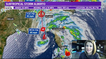 5/27 Weather Update 8:30 p.m.