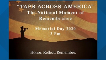 Americans asked to pause 1 minute for Taps Memorial Day remembrance