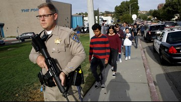 Sheriff: California school shooter used a 'ghost gun'