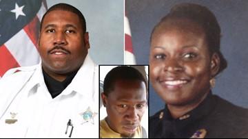 Manhunt underway after officer fatally shot; deputy killed in suspect search