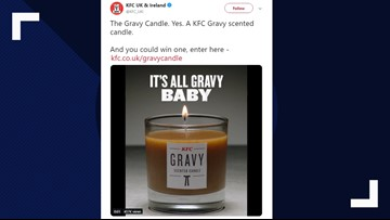 KFC launches gravy-scented candle