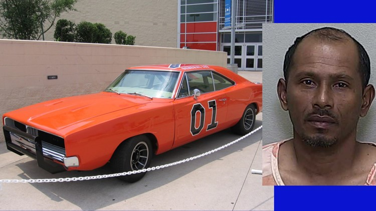 Florida man runs from deputies in General Lee replica