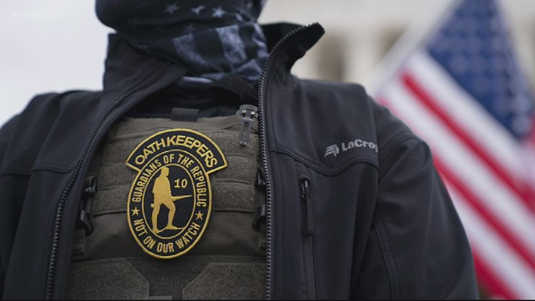 Grand jury indicts 6 more Oath Keepers in expanding Capitol riot conspiracy case