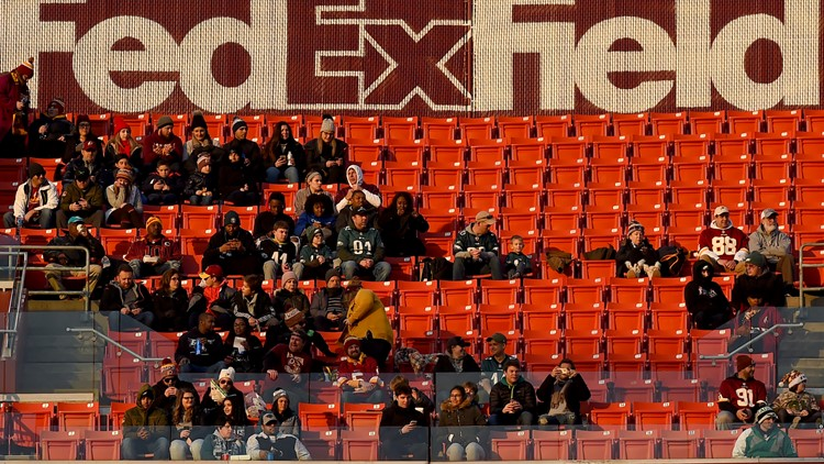 FedEx Field seats pre Redskins game