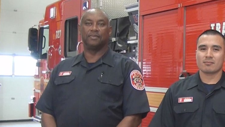 Nearly 60-year-old man becomes a new firefighter