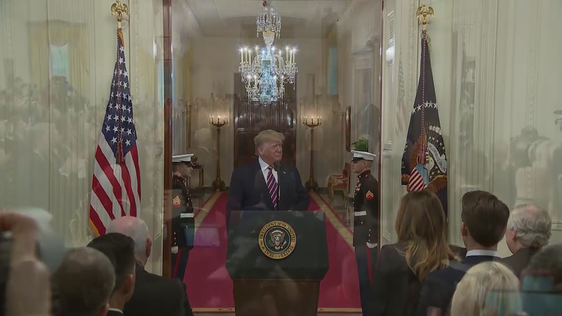 VERIFY: Can President Trump be fined for saying 'bullshit' on live television?